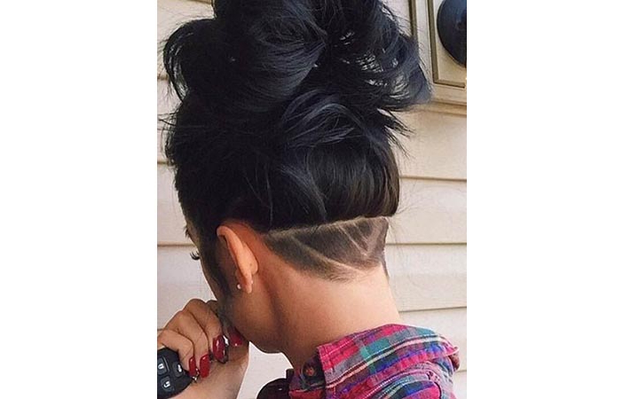 15 Badass Undercuts That Prove Shaved Heads Aren For Best And Newest Shaved Undercuts (View 7 of 25)