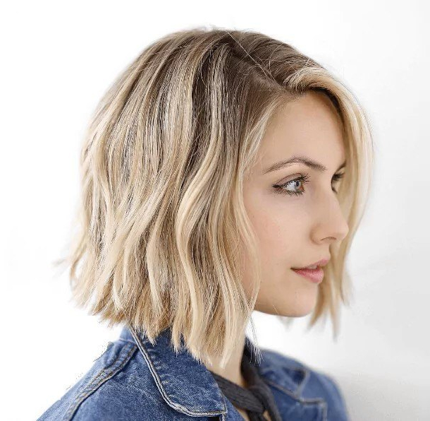 15 Best Blonde Bob Hairstyles For 2019 With One Length Short Blonde Bob Hairstyles (View 18 of 25)