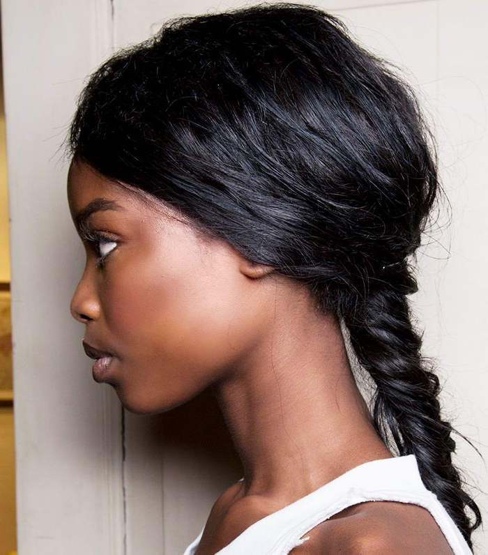 15 Braided Hairstyles That Are Actually Cool (We Swear) For Newest Modern Braided Top Knot Hairstyles (View 16 of 25)