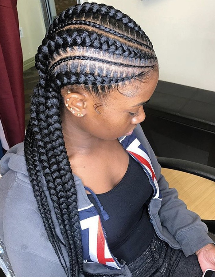 15 Braided Hairstyles You Need To Try Next | Naturallycurly Within Most Recent Straight Backs Braids Hairstyles (View 24 of 25)
