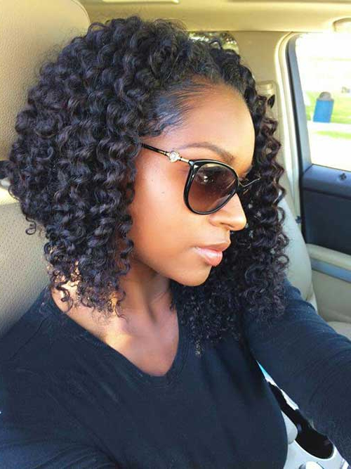 15+ Curly Bob Hairstyles | Short Hairstyles & Haircuts With Regard To Naturally Curly Bob Hairstyles (View 20 of 25)