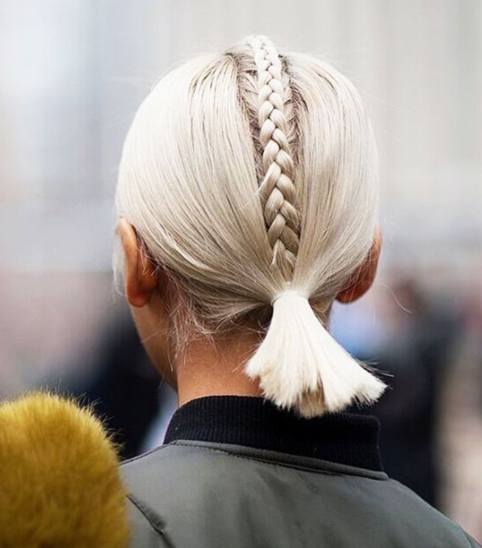 15 Easy Hairstyles For Long Hair Regarding Most Up To Date Loosely Tied Braid Hairstyles With A Ribbon (View 24 of 25)