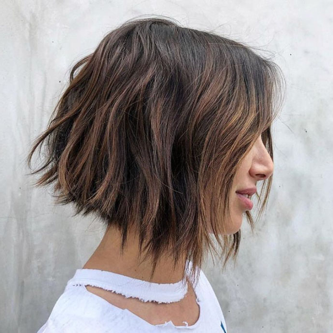 15 Flattering Examples Of 2019's Trendiest Bob Haircut In Layered And Textured Bob Hairstyles (View 24 of 25)