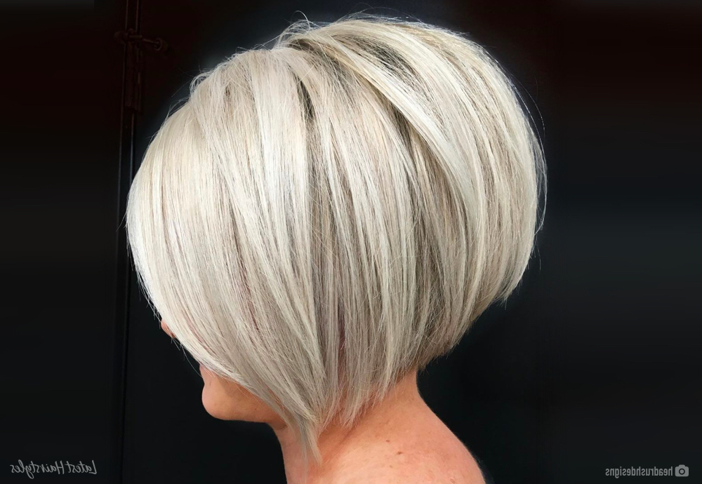 15 Hottest Short Stacked Bob Haircuts To Try This Year In Super Short Inverted Bob Hairstyles (View 8 of 25)