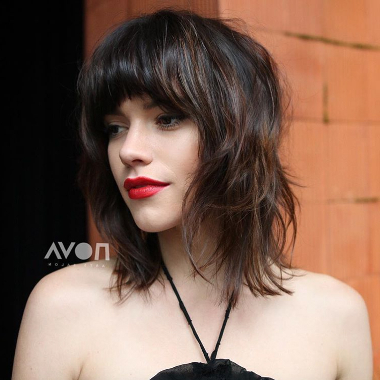 15 Most Flattering Haircuts For Women With Thin Hair Inside Perfect Shaggy Bob Hairstyles For Thin Hair (View 21 of 25)