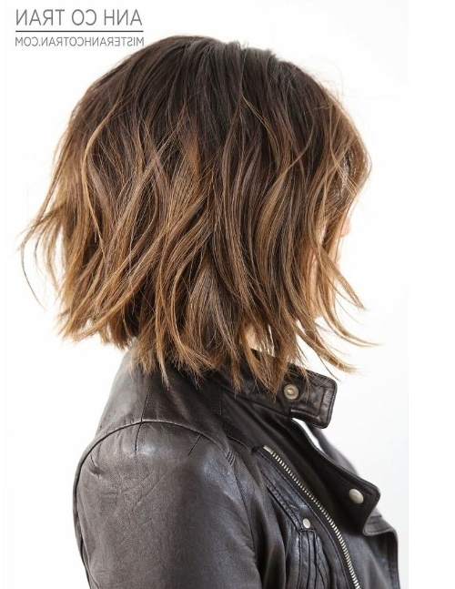 15 Shaggy Bob Haircut Ideas For Great Style Makeovers In Razor Bob Haircuts With Highlights (View 16 of 25)