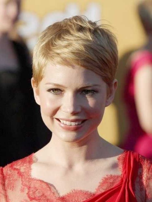 15 Super Michelle Williams Pixie Haircuts Within Most Recent Michelle Williams Pixie Haircuts (View 12 of 25)