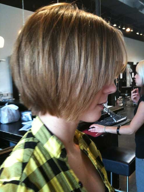 15 Unique Chin Length Layered Bob For Jaw Length Short Bob Hairstyles For Fine Hair (View 7 of 25)