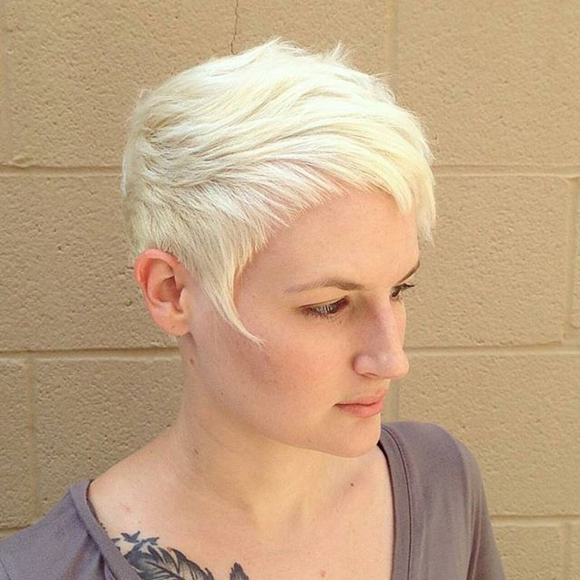 16 Edgy And Pretty Pixie Haircuts For Women – Pretty Designs Pertaining To Most Current Edgy Textured Pixie Haircuts With Rose Gold Color (View 8 of 25)