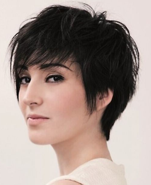 16 Great Short Shaggy Haircuts For Women – Pretty Designs Within Most Recently Short Shaggy Pixie Hairstyles (View 5 of 25)