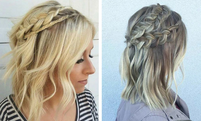 17 Chic Braided Hairstyles For Medium Length Hair | Stayglam Pertaining To Recent Medium Sized Braids Hairstyles (View 20 of 25)