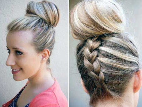 17+ Divine Lazy Hairstyles Ideas In 2019 | Finger Wave With Recent Modern Braided Top Knot Hairstyles (View 4 of 25)