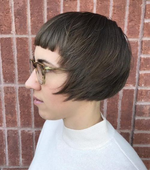 17 Hottest Short Bob With Bangs You'll See In 2020 Pertaining To Ear Length French Bob Hairstyles (View 21 of 25)
