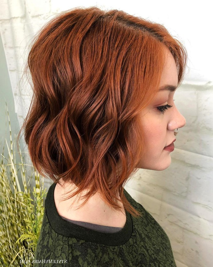 17 Short Layered Bob Haircuts Trending In 2019 – Style My Hairs Throughout A Very Short Layered Bob Hairstyles (View 15 of 25)