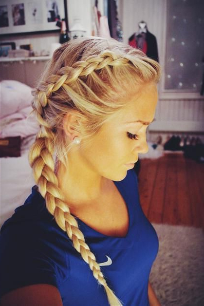 17 Stunning Dutch Braid Hairstyles With Tutorials – Pretty Within Most Recently Side Dutch Braid Hairstyles (View 10 of 25)
