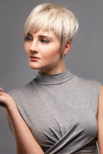 170 Pixie Cut Ideas To Suit All Tastes In 2020 For Latest Choppy Pixie Haircuts With Short Bangs (View 11 of 25)