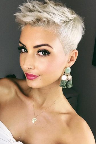 170 Pixie Cut Ideas To Suit All Tastes In 2020 In Recent Edgy Pixie Haircuts (View 13 of 25)