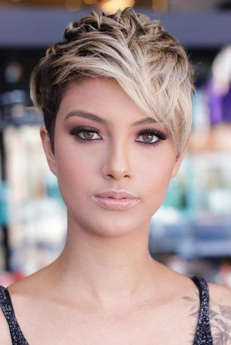 170 Pixie Cut Ideas To Suit All Tastes In 2020 Intended For Most Up To Date Short Layered Pixie Haircuts (View 24 of 25)