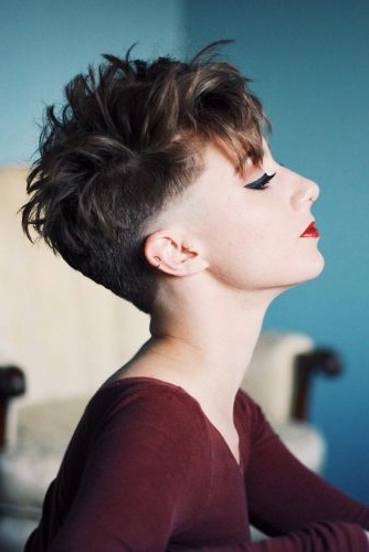 170 Pixie Cut Ideas To Suit All Tastes In 2020 Pertaining To Most Recently Super Short Shag Pixie Haircuts (View 17 of 25)