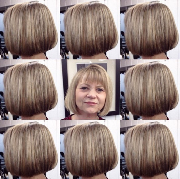 18 Beautiful Short Hairstyles For Round Faces – Pretty Designs With Regard To Bob Hairstyles For A Chubby Face (View 24 of 25)