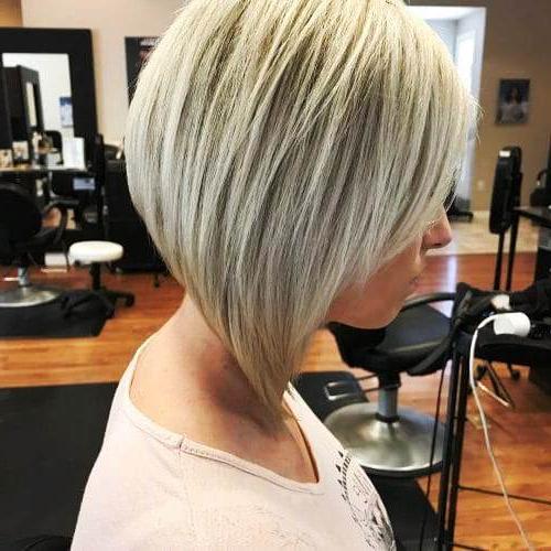 18 Cute And Sexy Undercut Bob Haircut | Fashionleech Trend With Regard To Blonde Undercut Bob Hairstyles (View 10 of 25)