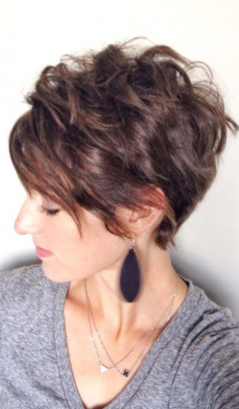 18 Latest Pixie Cuts For Round Face You'll Love For Summer Throughout Most Recent Pixie Haircuts For Round Face (View 12 of 25)