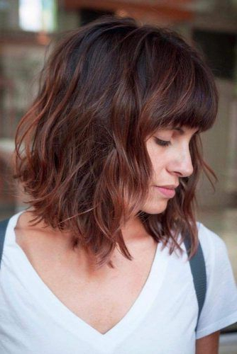 195 Fantastic Bob Haircut Ideas | Lovehairstyles With Modern Swing Bob Hairstyles With Bangs (View 22 of 25)