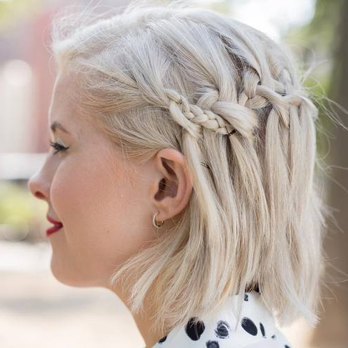 20 Amazing Short Hairstyle With Braids – Braided Short Pertaining To Most Up To Date Braided Short Hairstyles (View 25 of 25)