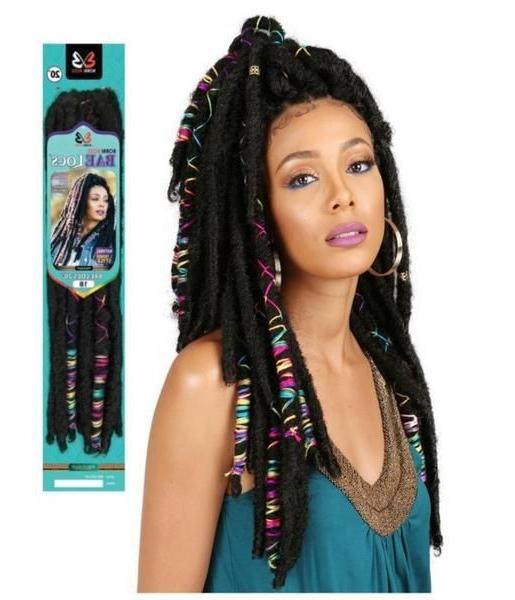 "20"" Bae Locs Accent Crochet Braid Hairbobbi Boss | Black Regarding Most Recently Cornrow Accent Braids Hairstyles (View 12 of 25)"