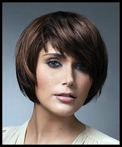 20 Beautiful Short Brown Hairstyles For Women Short Hair In Gorgeous Bob Hairstyles For Thick Hair (View 25 of 25)