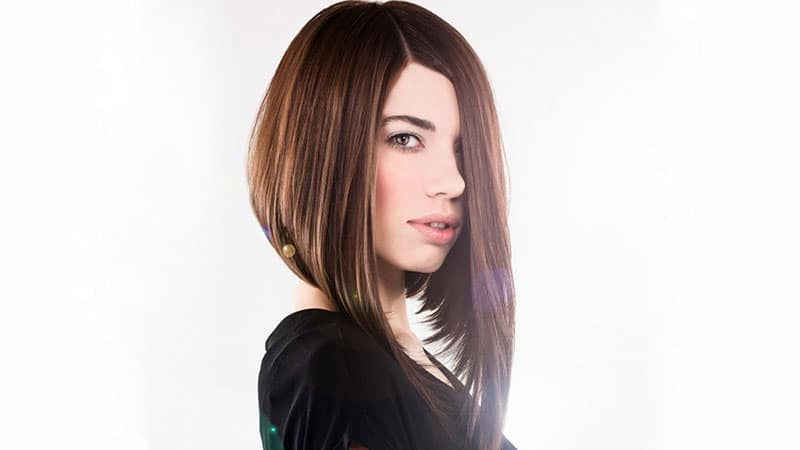 20 Best Inverted Bob Haircuts For Women – The Trend Spotter With Rounded Sleek Bob Hairstyles With Minimal Layers (View 7 of 25)