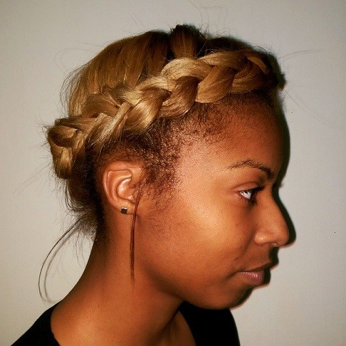 20 Best Milkmaid Hairstyles – Pretty Milkmaid Braid For Pertaining To Current Milkmaid Crown Braids Hairstyles (View 12 of 25)