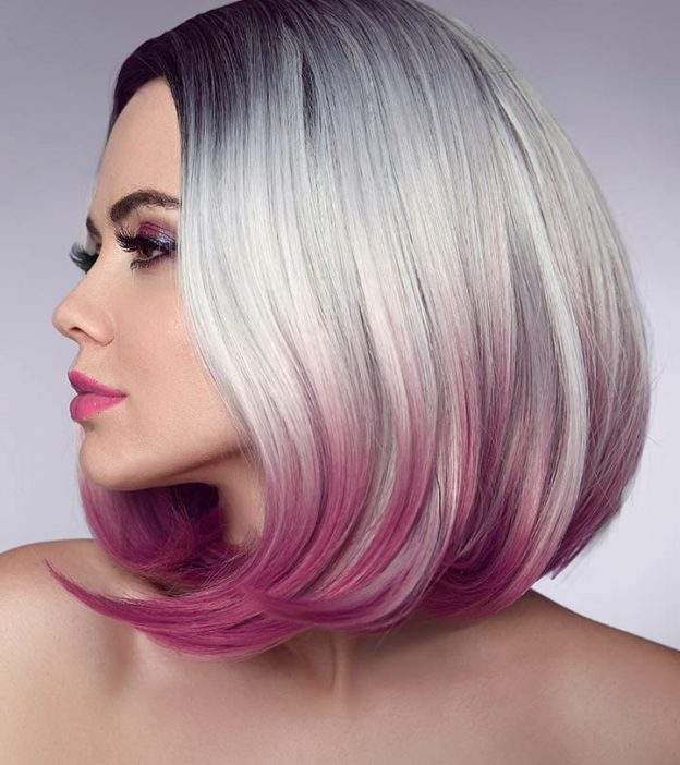 20 Best Ombre Hair Colors For Short Hair In Most Recent Smokey Pastel Colors Pixie Haircuts (View 18 of 25)