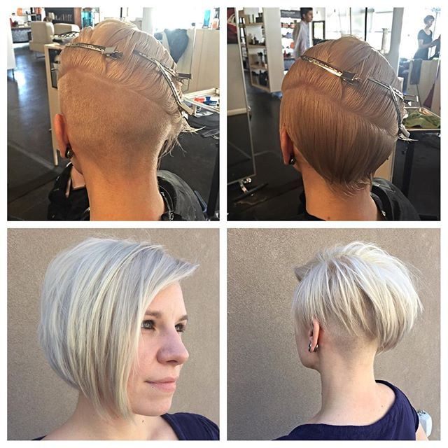 20 Cute Asymmetrical Bob Hair Styles You Will Love With Regard To Blonde Undercut Bob Hairstyles (View 24 of 25)