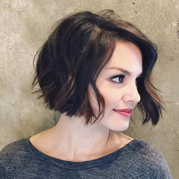 20 Cute Bob Haircuts For Every Face Shape – Lead Hairstyles Regarding Short Cappuccino Bob Hairstyles (View 15 of 25)
