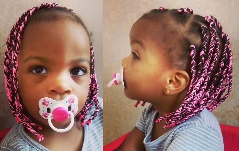 20 Cutest Braided Hairstyles For Babies (2020 Guide) Throughout Best And Newest Baby Pink Braids Hairstyles (View 14 of 25)