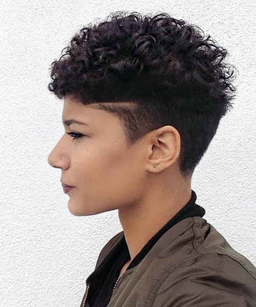20 Easy, Cute Pixie Haircuts 2020 – Short Hair Styles For Pertaining To Best And Newest Edgy & Chic Short Curls Pixie Haircuts (View 22 of 25)