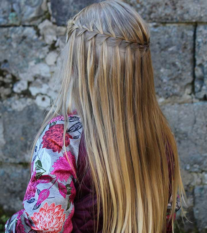 20 Gorgeous Waterfall Braid Hairstyles – Blushery With Regard To Most Recently High Waterfall Braid Hairstyles (View 7 of 25)