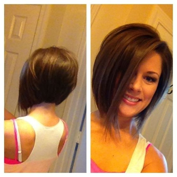 20 Hottest Short Stacked Haircuts – The Full Stack You Throughout Newest Classic Disconnected Bob Haircuts (View 15 of 25)