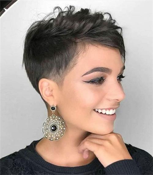 20 Latest Edgy Pixie Haircuts | Short Haircut Intended For Latest Edgy Pixie Haircuts (View 11 of 25)