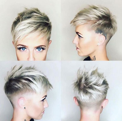 20 Latest Edgy Pixie Haircuts | Short Haircut Pertaining To 2018 Edgy Pixie Haircuts (View 20 of 25)