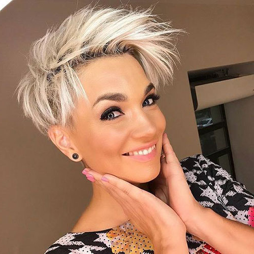 20 Latest Edgy Pixie Haircuts | Short Haircut Within Best And Newest Edgy & Chic Short Curls Pixie Haircuts (View 13 of 25)