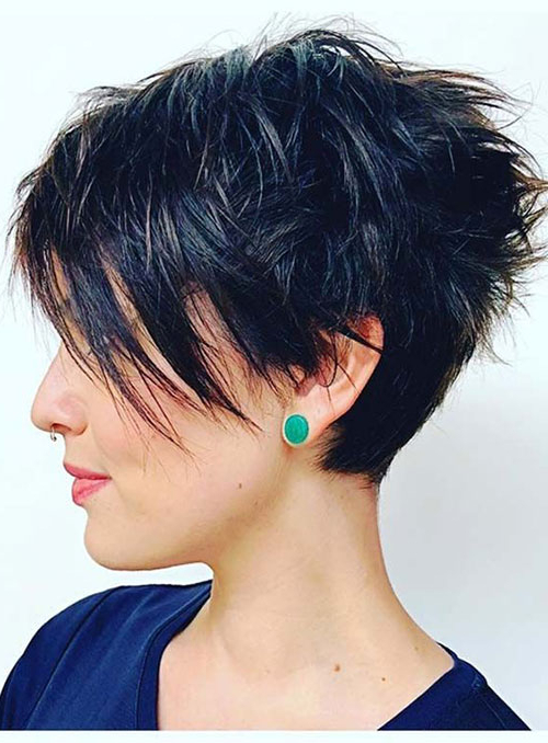 20 Latest Edgy Pixie Haircuts | Short Haircut Within Current Edgy Pixie Haircuts (View 3 of 25)