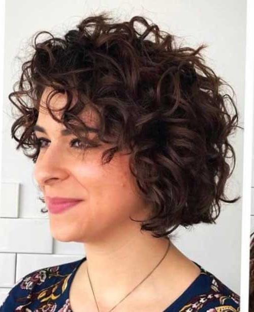 20 Pics Of Curly Bob Hairstyles | Bob Hairstyles 2018 Within Curly Bob Hairstyles (View 2 of 25)
