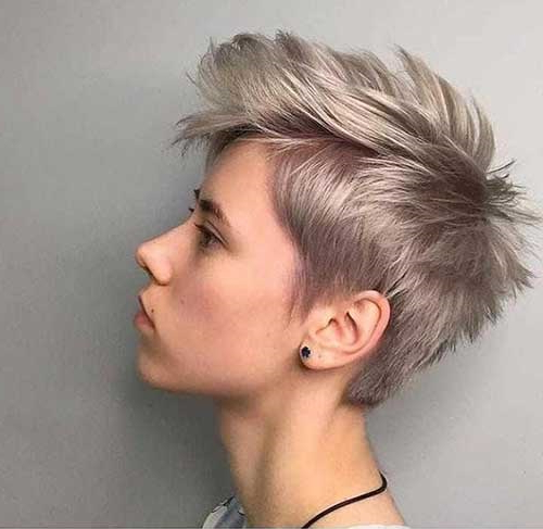 20 Pics Of Edgy Pixie Cut | Short Haircut With Regard To Latest Edgy & Chic Short Curls Pixie Haircuts (View 9 of 25)