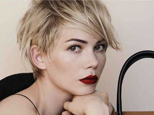 20 Pixie Cut Michelle Williams | Pixie Cut – Haircut For 2019 For Most Up To Date Michelle Williams Pixie Haircuts (View 11 of 25)
