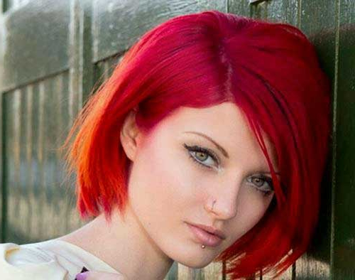 20 Red Bobs Hairstyles | Bob Hairstyles 2018 – Short Pertaining To Bright Red Bob Hairstyles (View 16 of 25)