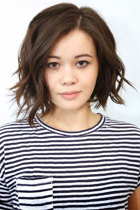 20 Short Hairstyles For Wavy Hair | Short Hairstyles 2018 – 2019 For Sassy Wavy Bob Hairstyles (View 23 of 25)