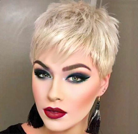 20 Short Shaggy Pixie Haircuts | Short Hairstyles & Haircuts With Regard To Most Up To Date Super Short Shag Pixie Haircuts (View 8 of 25)