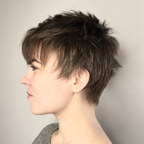20 Stunning Androgynous Haircuts Ideas – Page 4 Of 20 Throughout Best And Newest Androgynous Pixie Haircuts (View 10 of 25)